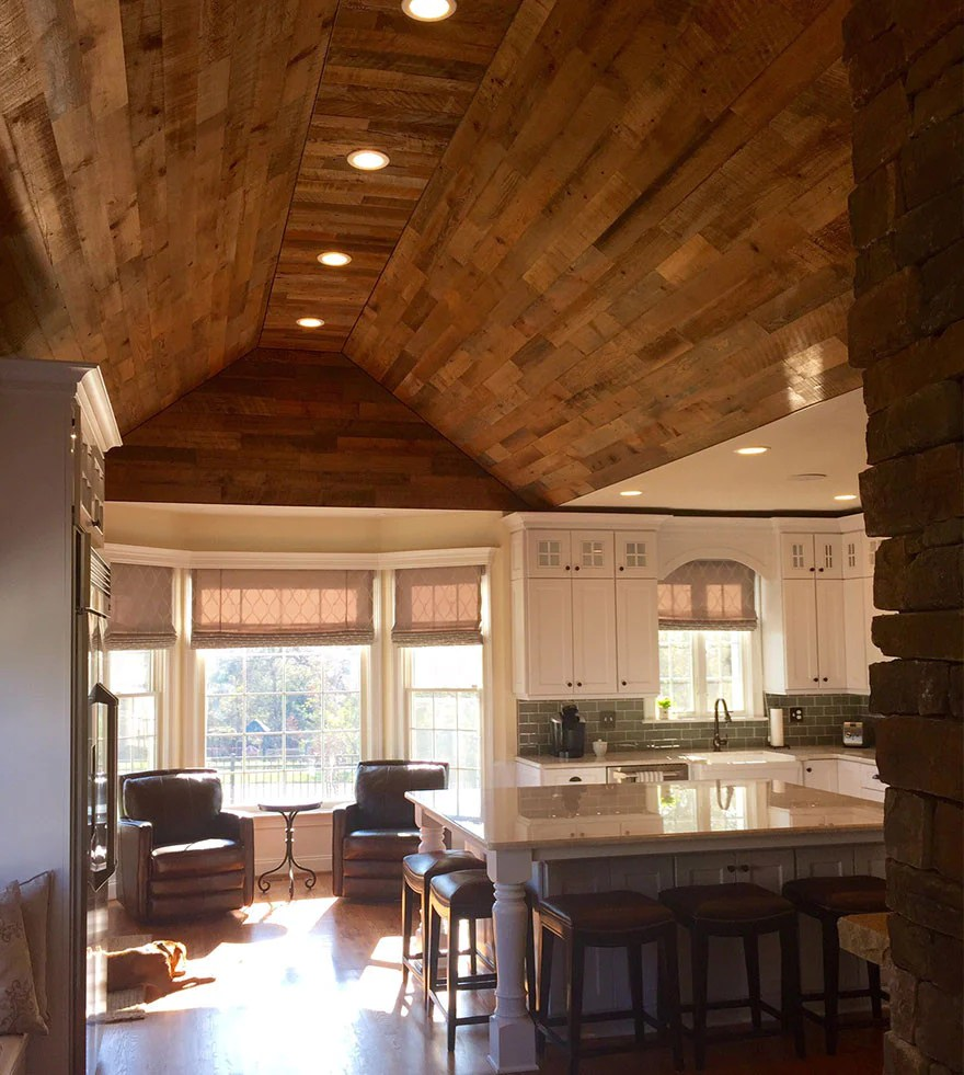 5 Seriously Stylish Stikwood Ceilings DIY Decor