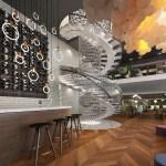 Wine Displays For Restaurants And Bars Stact Wine Racks
