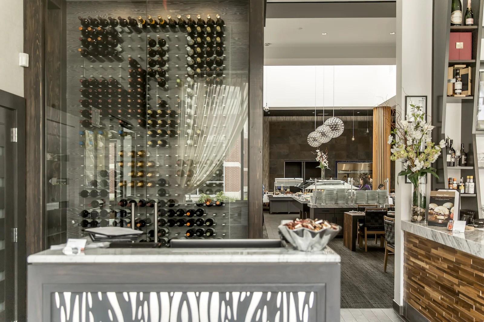 Wine Displays Restaurants And Bars Stact Racks