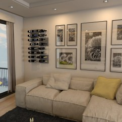 Can You Put A Wine Rack In Living Room Best Grey Paint Colors For Storage Display Trends 2018 Stact Racks Stylish Wall Mounted Displays Home
