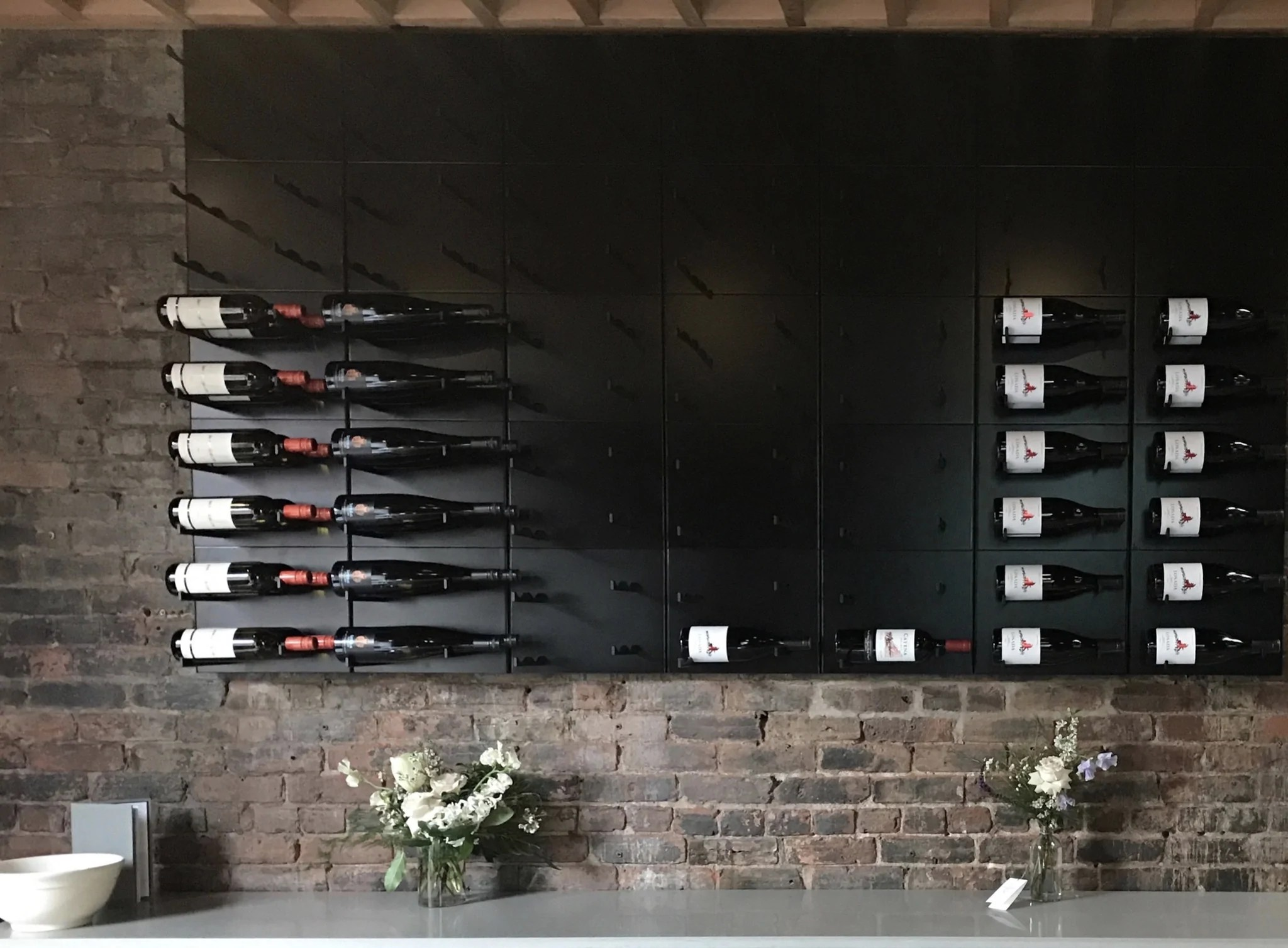 custom kitchen cabinets richmond va farm sinks for wine displays restaurants and bars – stact racks