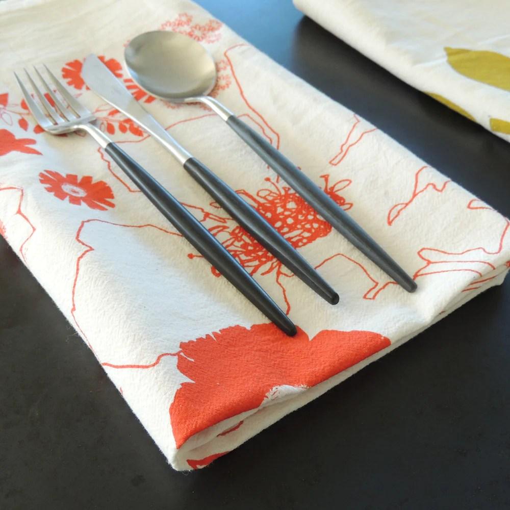 kitchen towels faux brick tea pilgrimwaters 100 flour sack with six unique designs cotton designer makers