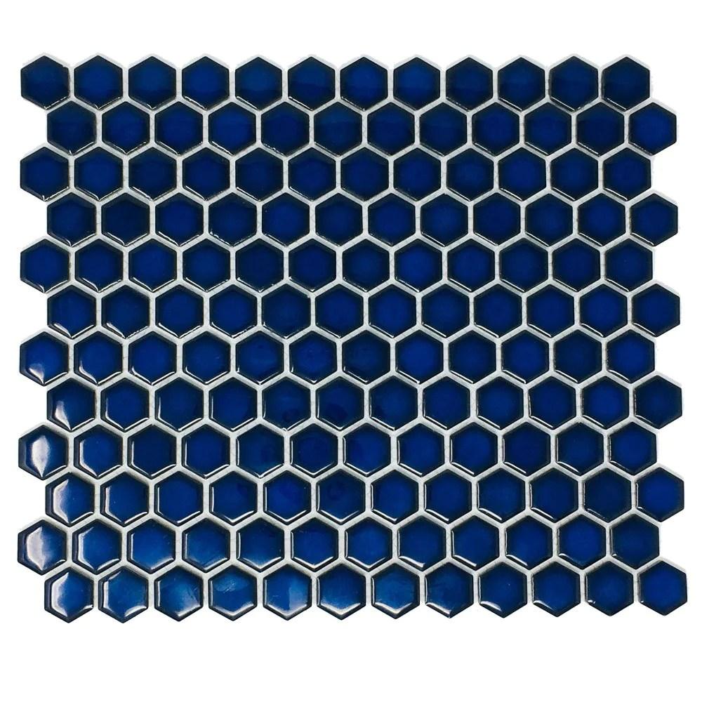 msi blue shimmer arabesque 10 in x 10