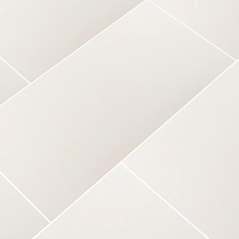 ms international carrara 12 in x 24 in glazed polished porcelain floor and wall tile 16 sq ft case