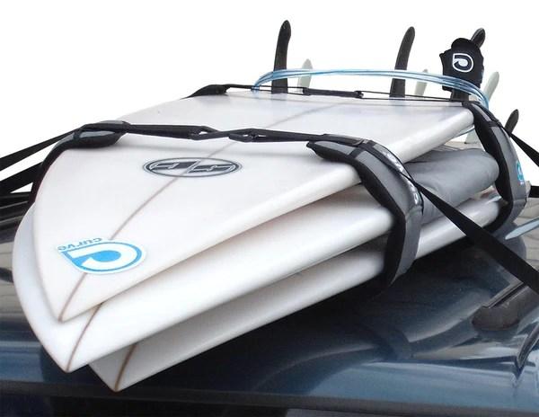 surfboard soft racks lockdown