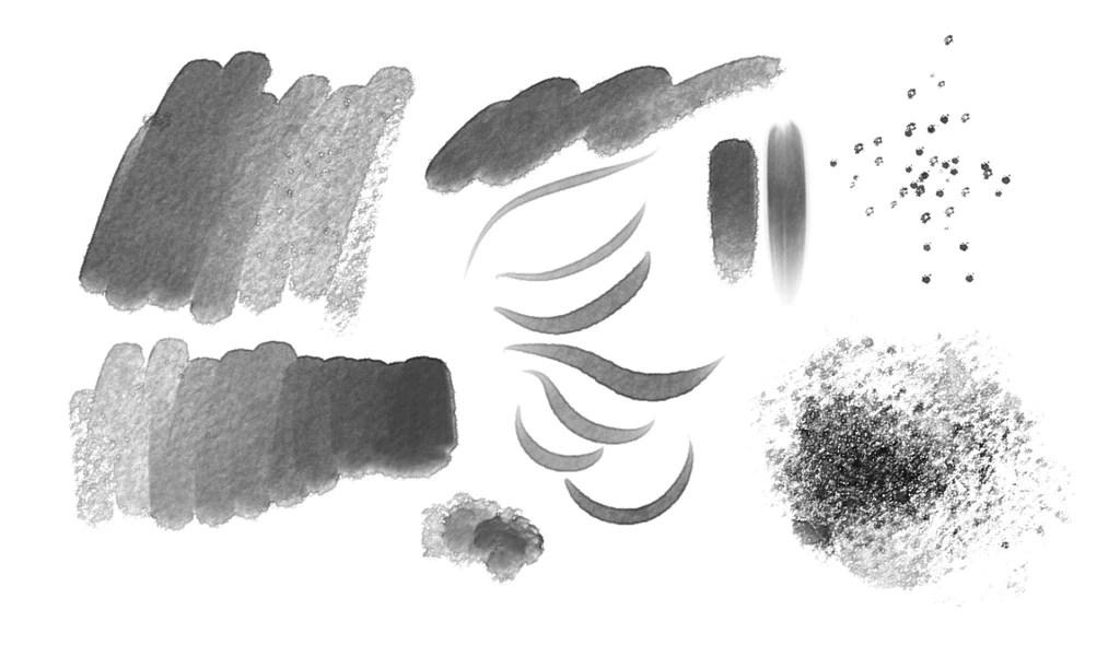 Manga Studio 5 Paint Amp Wash Brushes Frenden