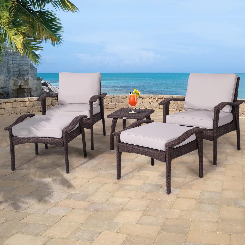Diensday Outdoor Furniture Patio Conversation Sets 5