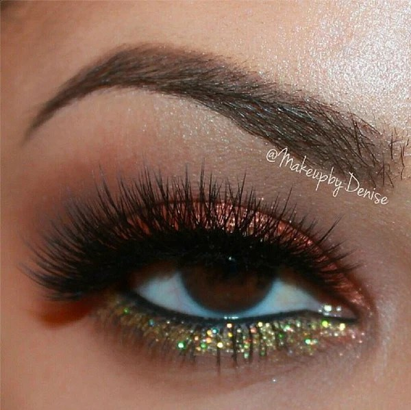 Golden Fairy Glitter Violet Voss Cosmetics