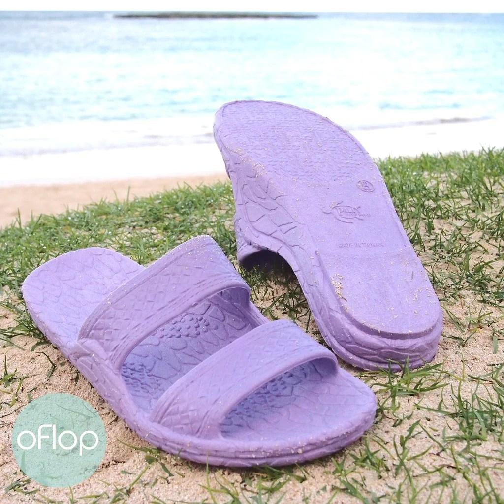 Lilac Jandals - Pali Hawaii Hawaiian Jesus Sandals Oflop