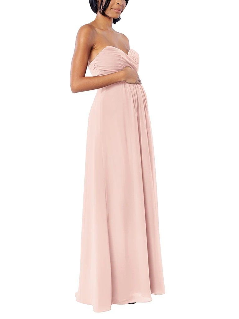 bb3d40da2d25 ... • Cozy Me What Color Is Blush Considered Blush Bridesmaid Dress  Brideside ...