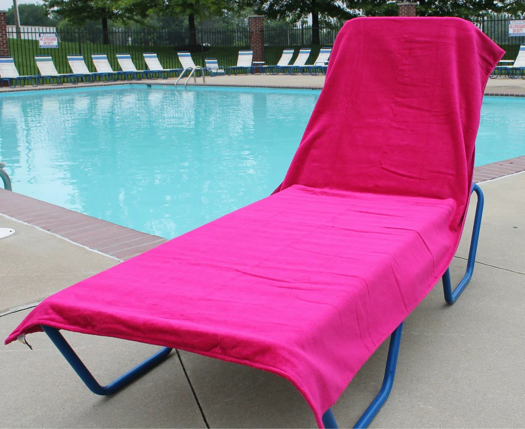 Lounge Chair Towels 78