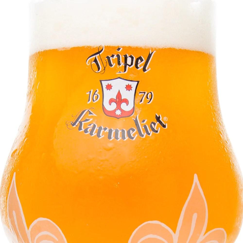 Bosteels Tripel Karmeliet Glass  Beer Dabbler Store