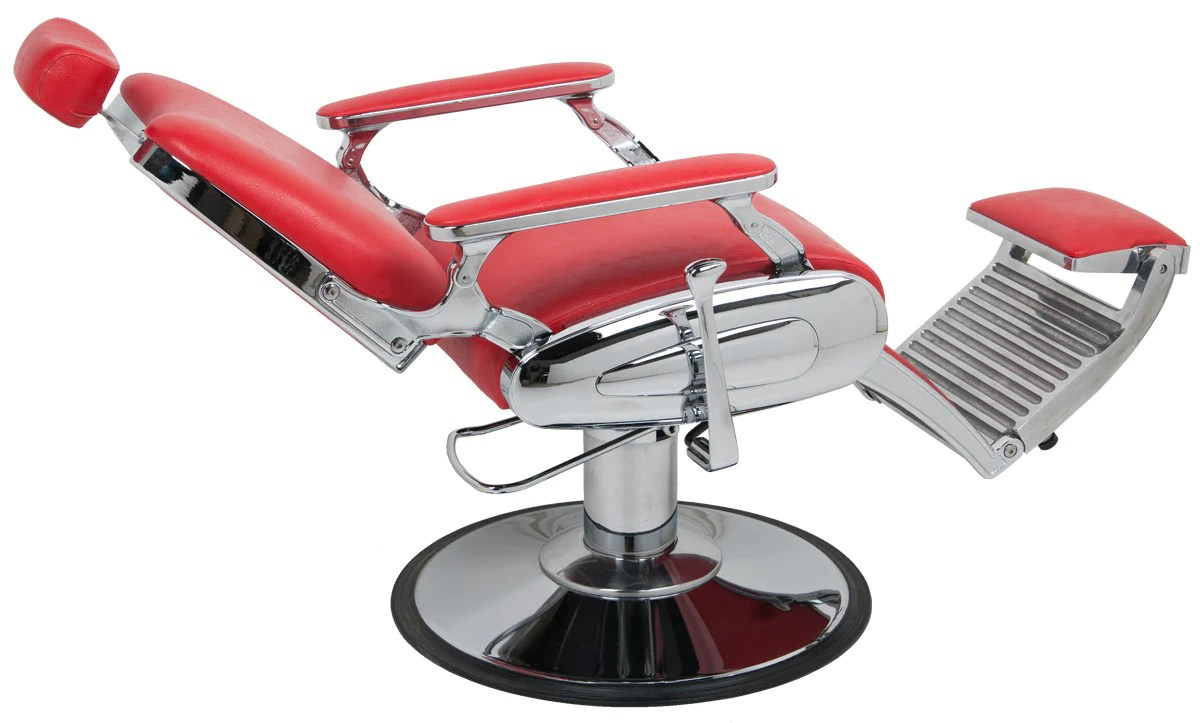 Red Barber Chair Jaguar Barber Chair In Red