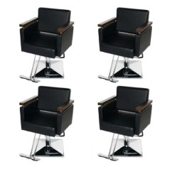 Salon Chairs For Cheap Sofa And Chair Covers Wholesale Discount Furniture Equipment Zurich Beauty 4 Unit Euro Package