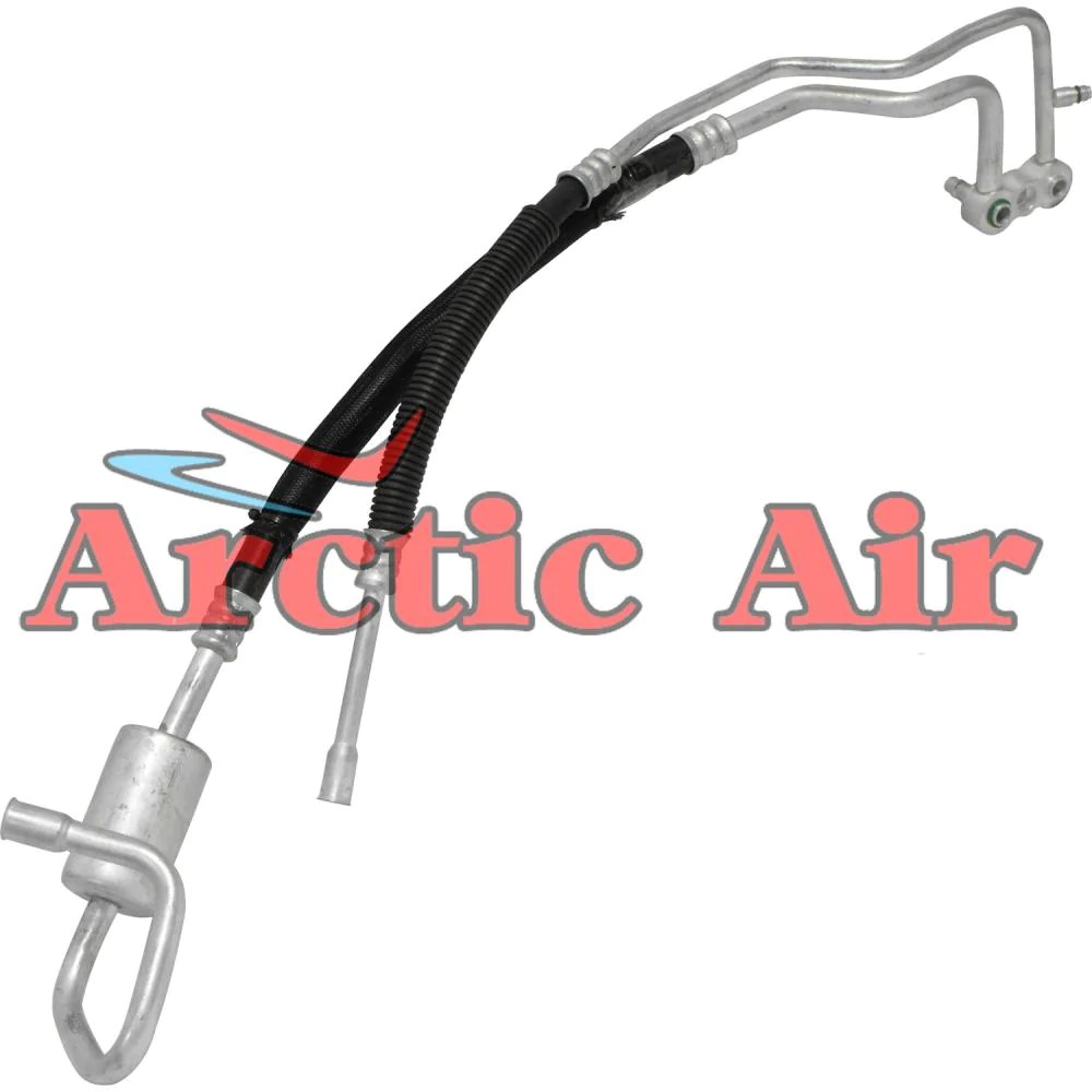 small resolution of ac discharge hose line for 1998 1999 dodge durango 3 9l 5 2l 5 9l arctic air