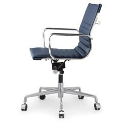 Ergonomic Chair Options Turquoise Side M348 Office In Vegan Leather Color