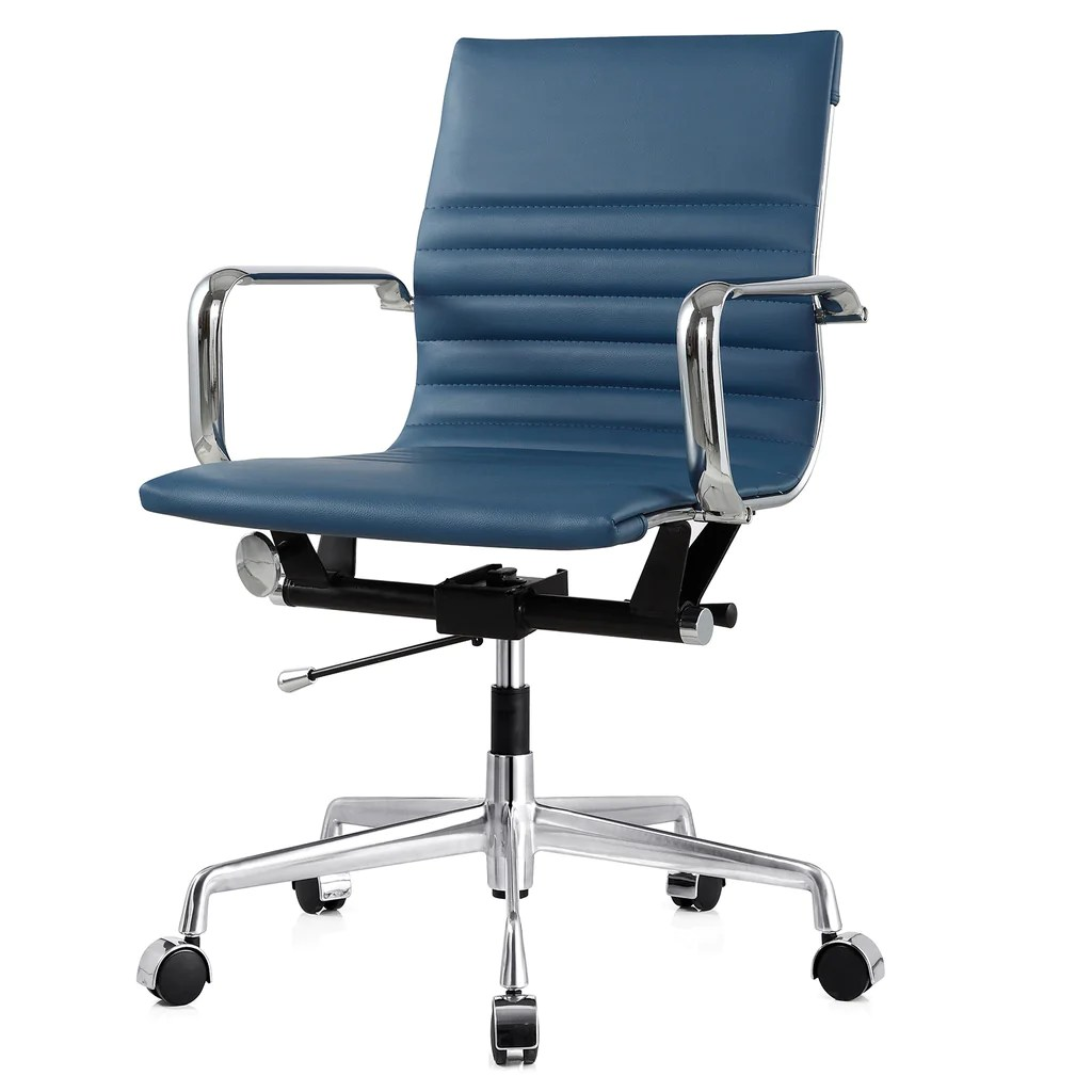 Colored Office Chairs M348 Office Chair In Vegan Leather Color Options