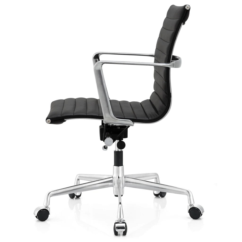 ergonomic chair options swing parts m5 office in aniline leather color