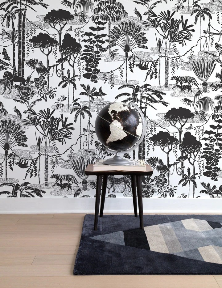 Jungle Dream Designer Wallpaper by Aime Wilder Made in