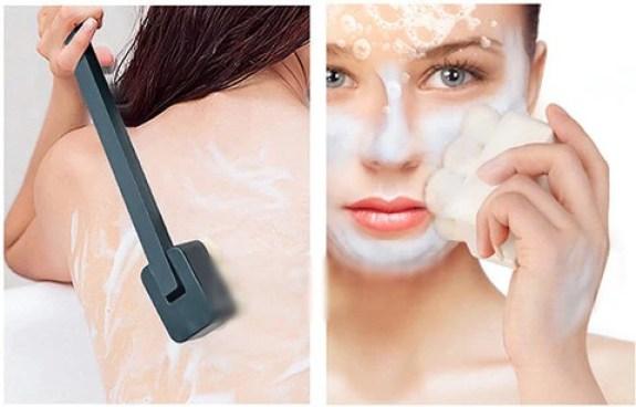 Multi-purpose Long Handle Bath Brush