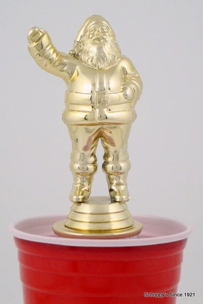 beer pong trophy christmas
