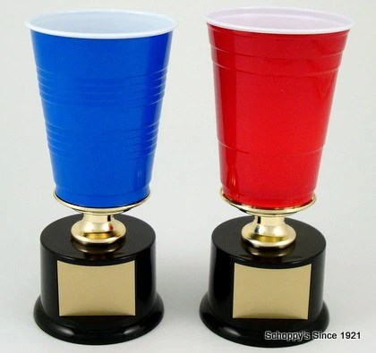 beer pong trophy medium