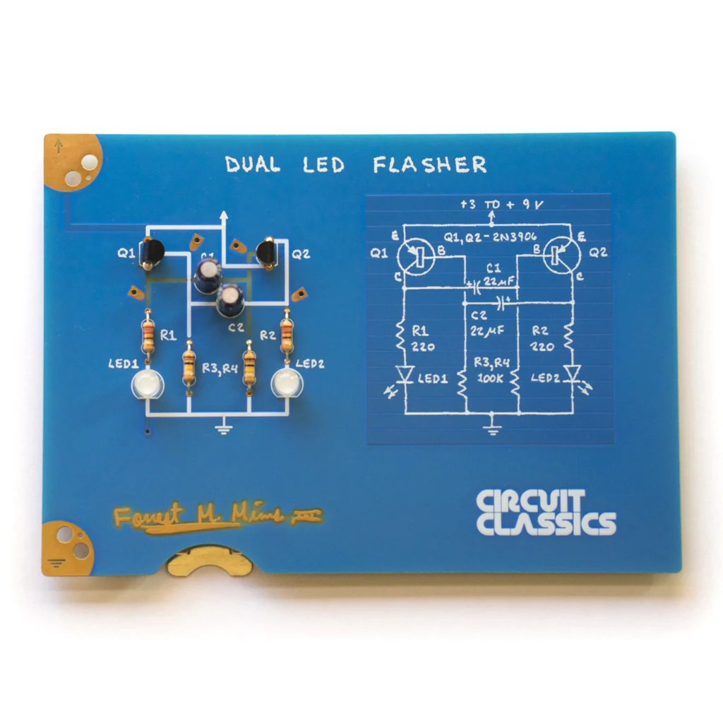 a product image of circuit classics dual led flasher [ 1024 x 1024 Pixel ]