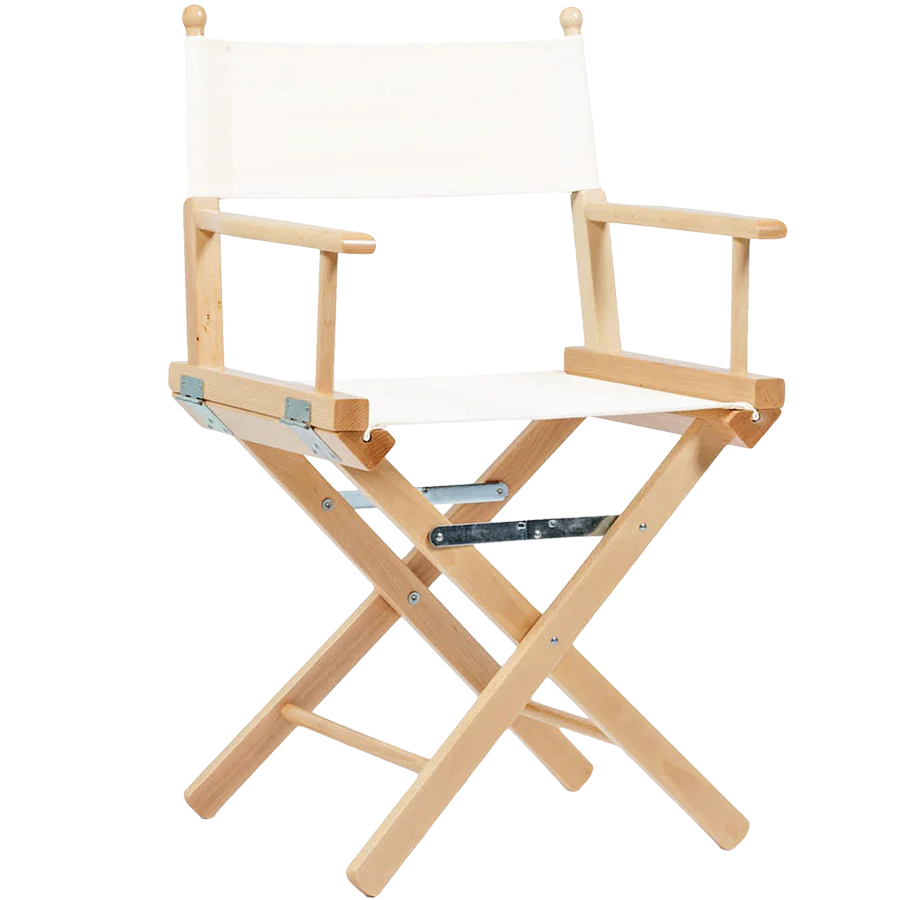Folding Director Chair Telami Director S Chair Natural Wood