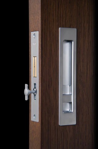 HallidayBaillie  Modern Pocket Door Hardware that doesn