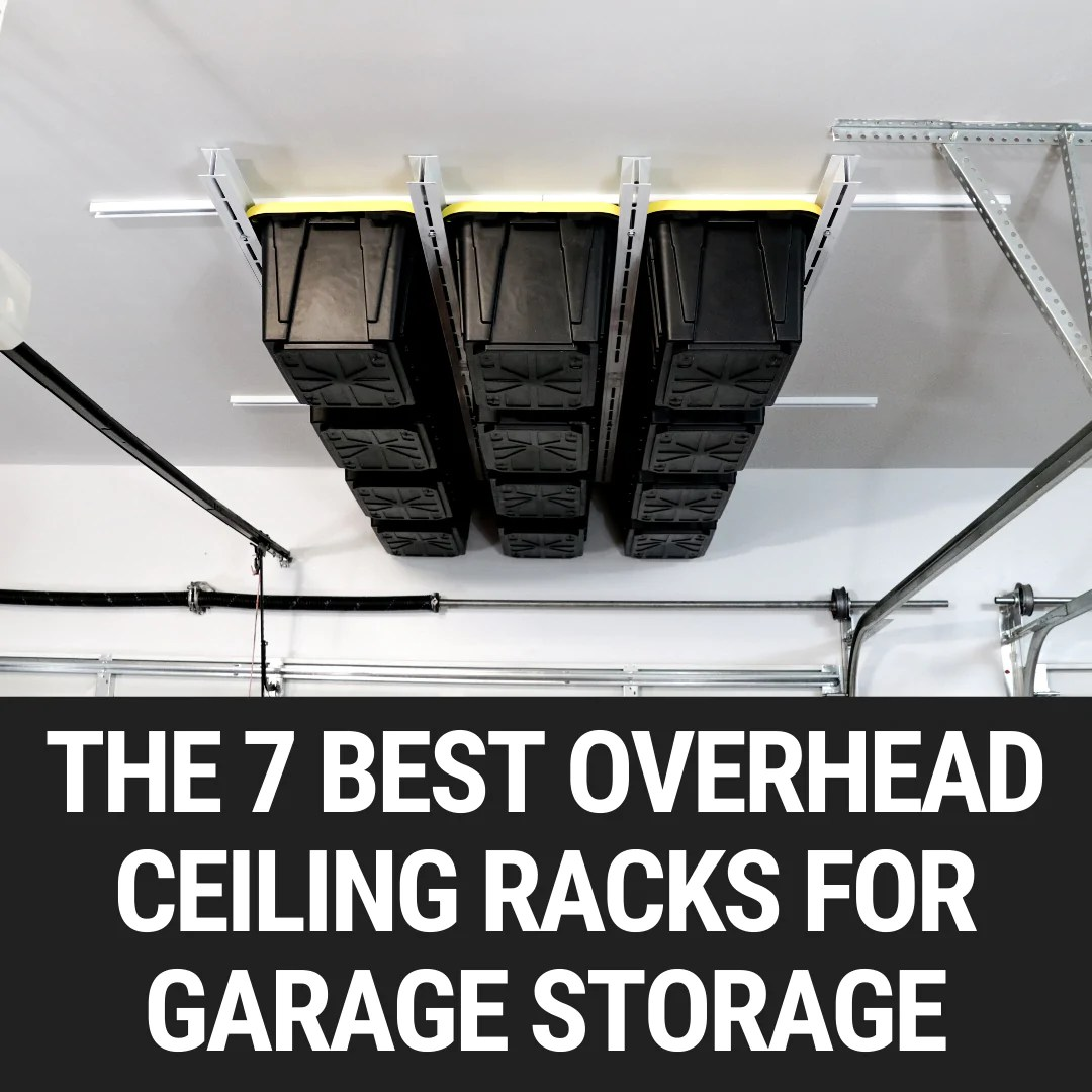 the 7 best overhead ceiling racks for