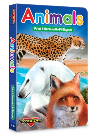 Animals Board Book – Rock 'N Learn