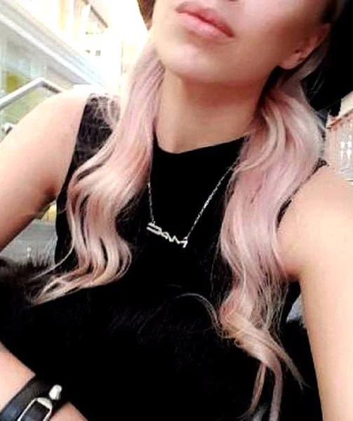 rose gold hair colour extensions