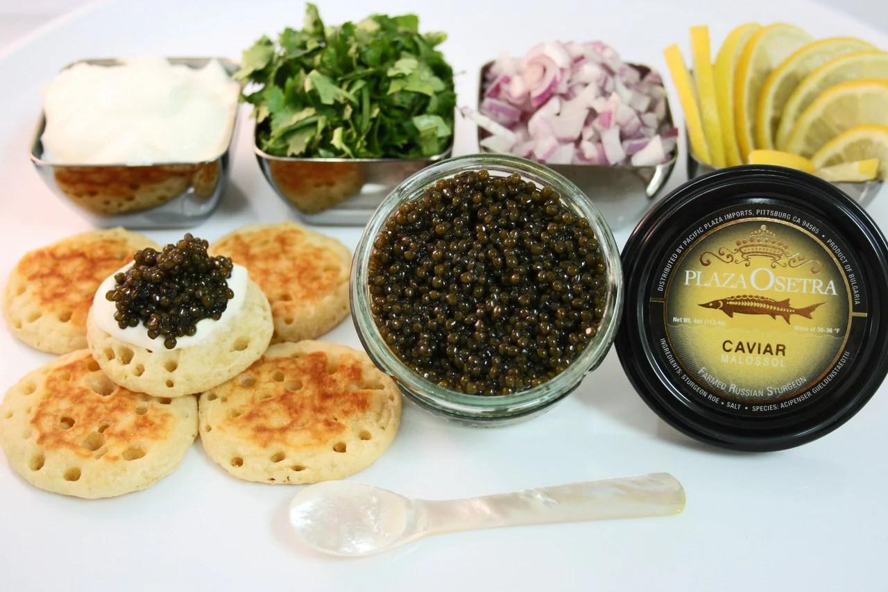 Plaza Osetra Caviar 2oz Pack