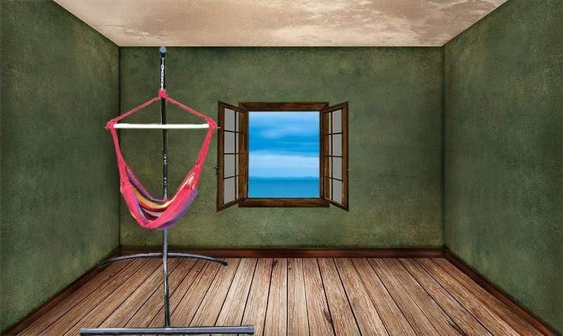 support pour chaise suspendue et chaise hamac interieur exterieur