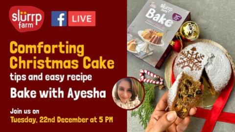 FB Live - Christmas Plum Cake Ingredients