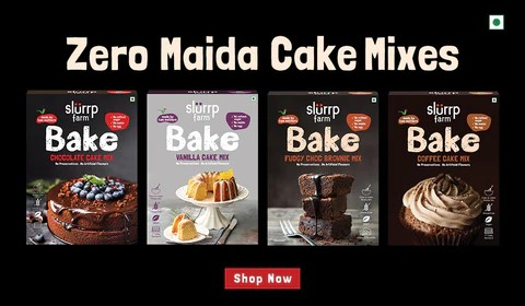 Slurrp Farm Cake Mixes
