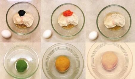 Tri-Colored Pasta Recipe- Tortellini Dough