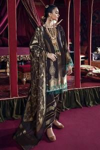 Cross Stitch Online Shab-e Arghavan-A Razia Sultana Jaquard Collection 2020