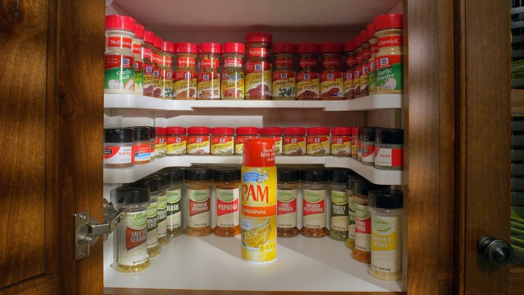 spicy shelf deluxe expandable spice