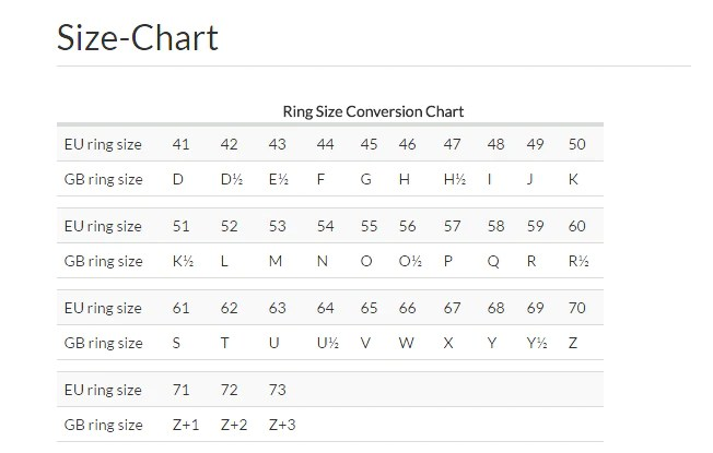 Ring size chart also  guide to sizes  uneak boutique rh uneakboutique