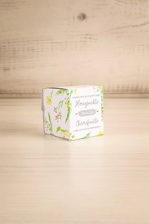 Cube Lait De Bain Chevrefeuille Milk Bath La Petite Garconne
