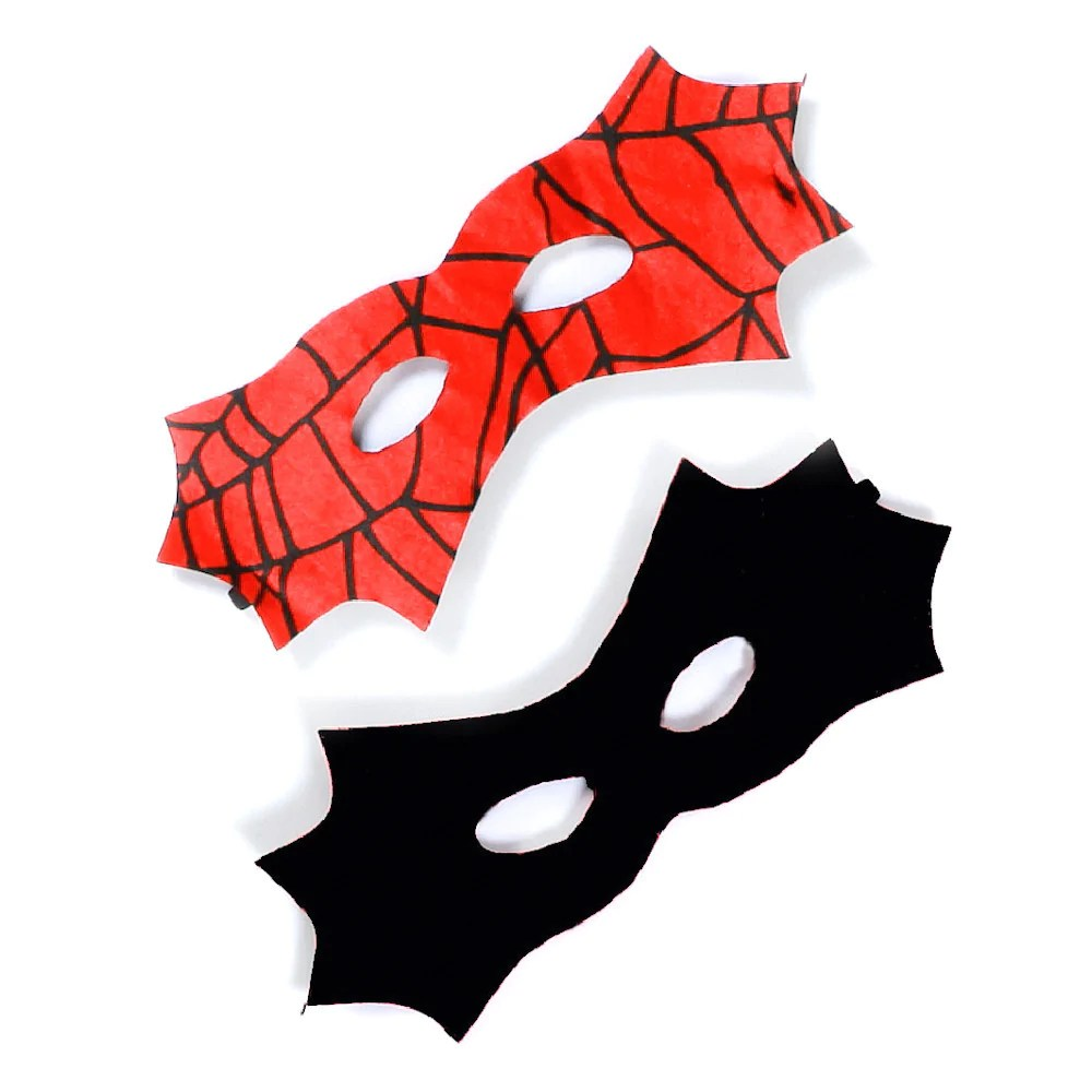 reversible spider bat mask