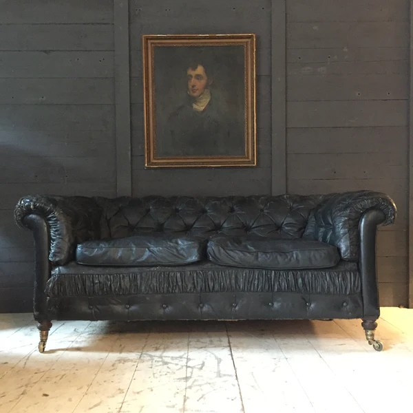 chesterfield sofa buy uk cost of professional cleaning edwardian leather antique on line tigers decorative