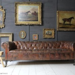 Chesterfield Sofa Buy Uk Paletten Selber Machen Anleitung 20th Century Leather On Line Tigers Decorative