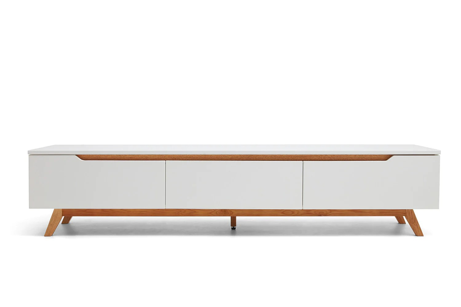 console tv design scandinave cima