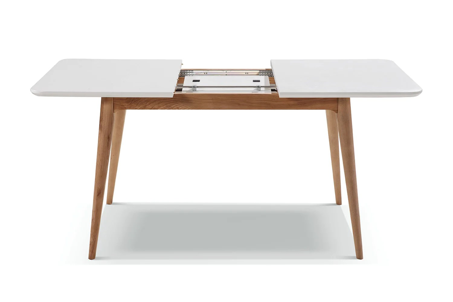 table de cuisine extensible vintage
