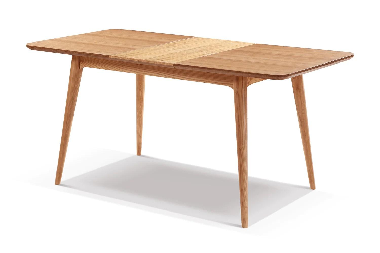 table de salle a manger extensible en bois adda