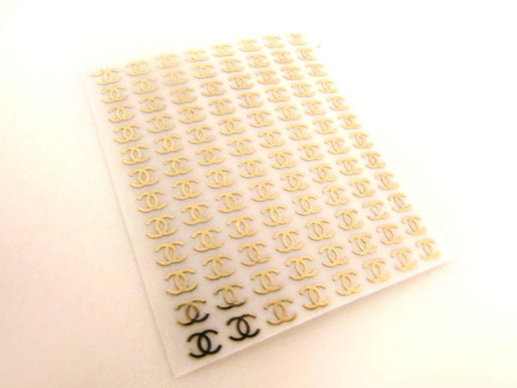 cc nail stickers