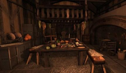 castle kitchen medieval arteria3d