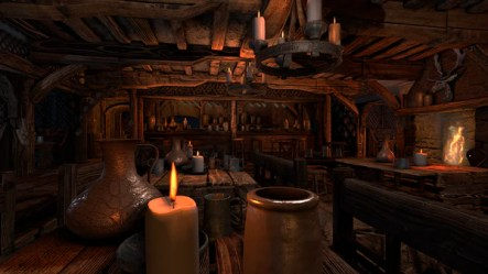medieval tavern interior inn bar scene unity fantasy room inside modular engine town quiet irrlicht cave taverna environment witch